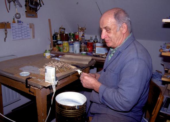 Erich Emmerich Holzkunsthandwerker Seiffen