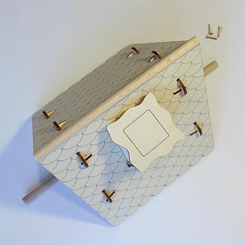 damasu bs vh01 bausatz kleines vogelhaus dpremiumtools test. Black Bedroom Furniture Sets. Home Design Ideas