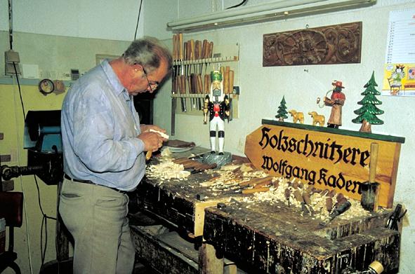 Holzkunst,Erzgebirge,Seiffen,Wolfgang Kaden,DAMASU