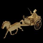 Einachser Kutsche Dogcart