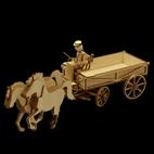 Fuhrwerk Kutsche Kastenwagen
