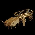 Fuhrwerk Kutsche Leiterwagen