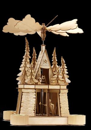 Tischpyramide - Der freche berggeist -