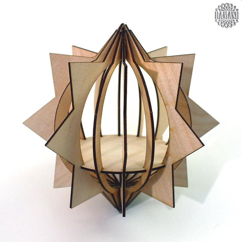 3d kl stern 16 bausatz deko 3d baumbehang bs 3dbbh11. Black Bedroom Furniture Sets. Home Design Ideas