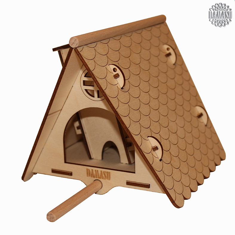 kleines vogelhaus bausatz sonstiges vogelhaus bs vh01. Black Bedroom Furniture Sets. Home Design Ideas
