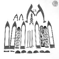 Eine <strong>Weihnachtspyramide</strong> in der <strong>Seiffen</strong>er Tradition in Form einer gotischen Kapelle. Die Pyramide ist naturbelassen und zerlegbar.