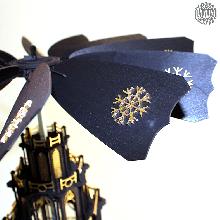 Ein Meisterstück zum selber bauen!<br>Unsere gotischen Weihnachtspyramiden gibt es jetzt auch als Selbstbausatz. Das gotische...
