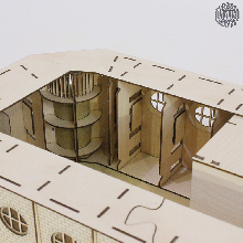 <br>Bastelanleitung online<br><br><br>Die Gründerzeit-Schwibbögen aus der Manufaktur für Holzkunst DAMASU können durch einen...
