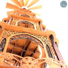 Ein Meisterstück zum selber bauen!<br/>Unsere gotischen Weihnachtspyramiden gibt es jetzt auch als Selbstbausatz. Das gotische...